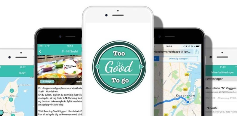 logo dell'app to good to go su smart phone