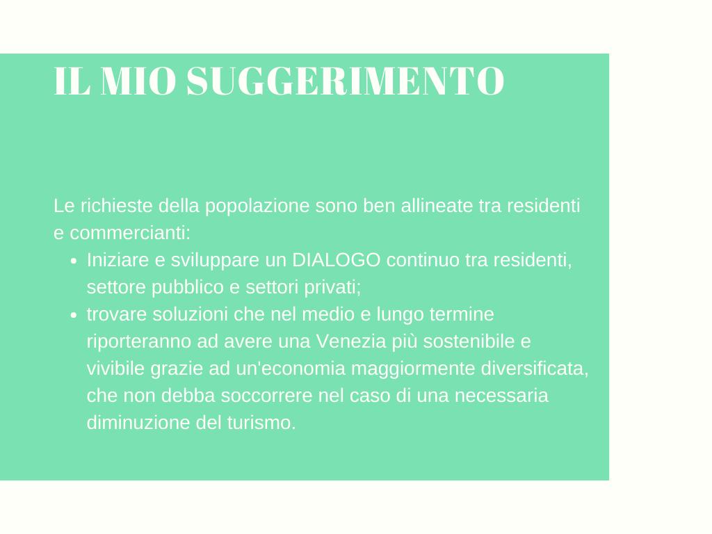 Mio consiglio overtourism Venezia