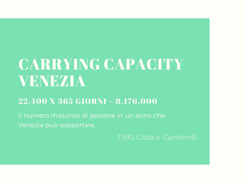 vera carrying capaciyty VENEZIA